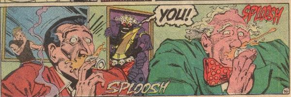 Detective Comics 602 sploosh