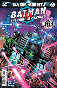 Batman the murder machine cover
